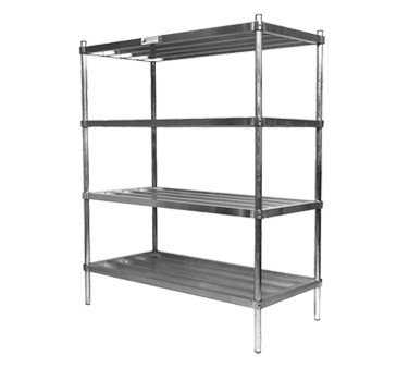 SUKD4-4-24 Alexander Industries shelving unit, tubular