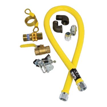 AllPoints Foodservice Parts & Supplies 32-1647 gas connector hose kit