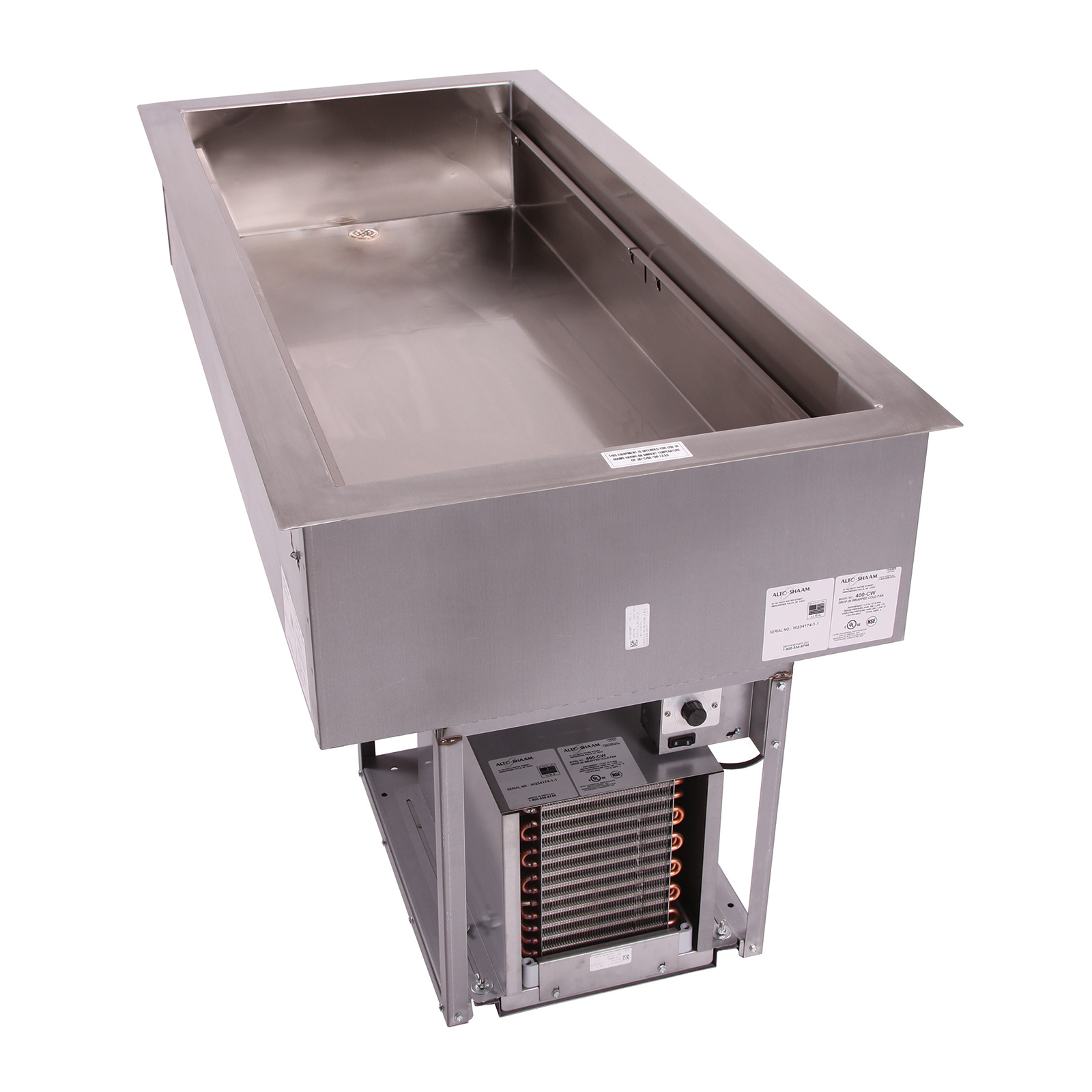 Alto-Shaam 400-CW cold food well unit, drop-in, refrigerated