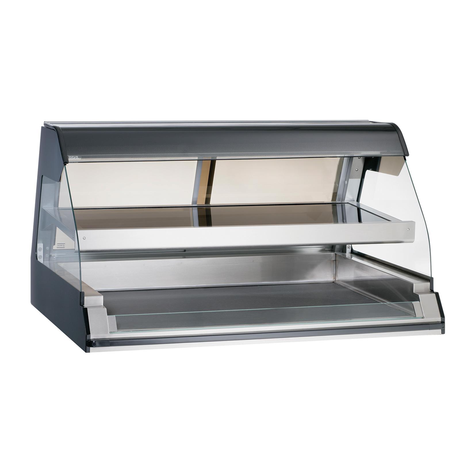 Alto-Shaam ED2-48/2S-BLK display case, heated deli, countertop