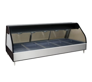 Alto-Shaam ED2-72/P-SS display case, heated deli, countertop