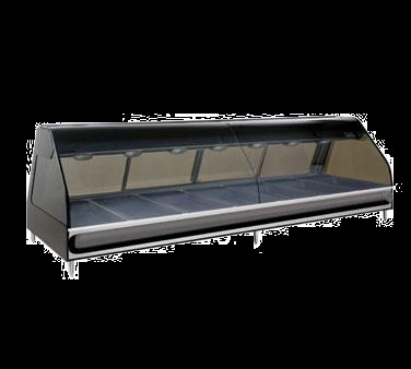 Alto-Shaam ED2-96-C display case, heated deli, countertop