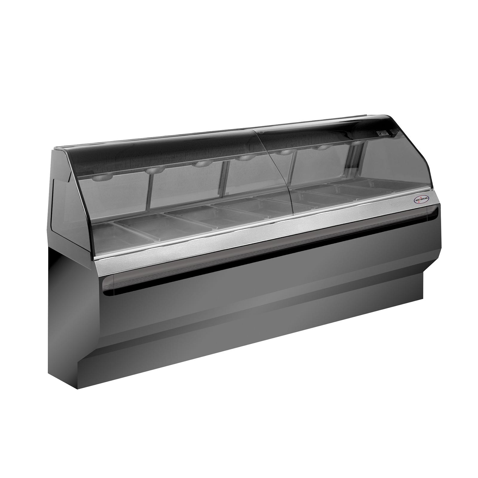 Alto-Shaam ED2SYS-96-C display case, heated deli, floor model
