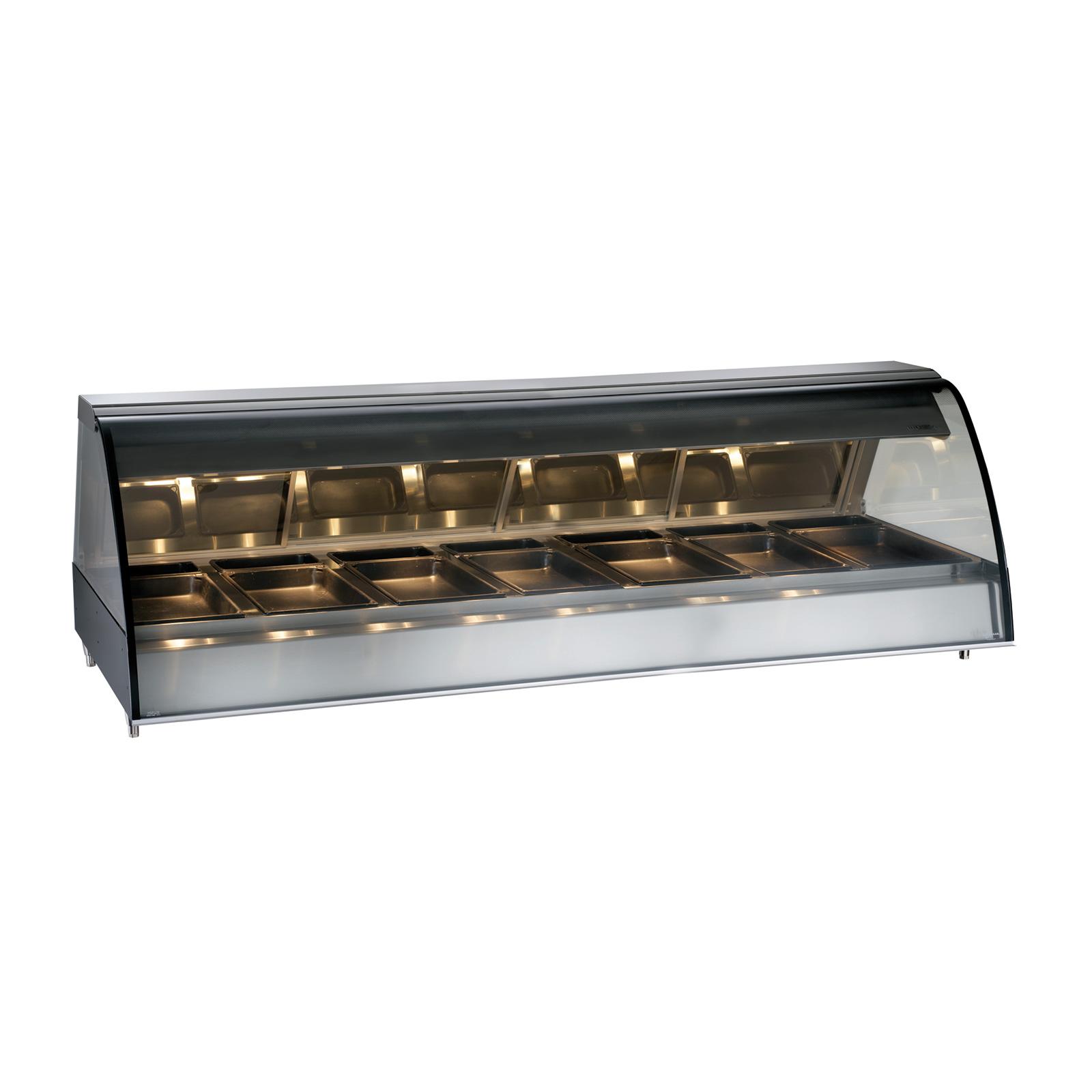 Alto-Shaam TY2-96-SS display case, heated deli, countertop