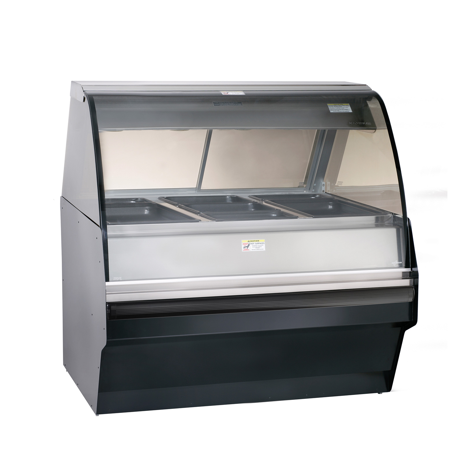 Alto-Shaam TY2SYS-48-SS display case, heated deli, floor model