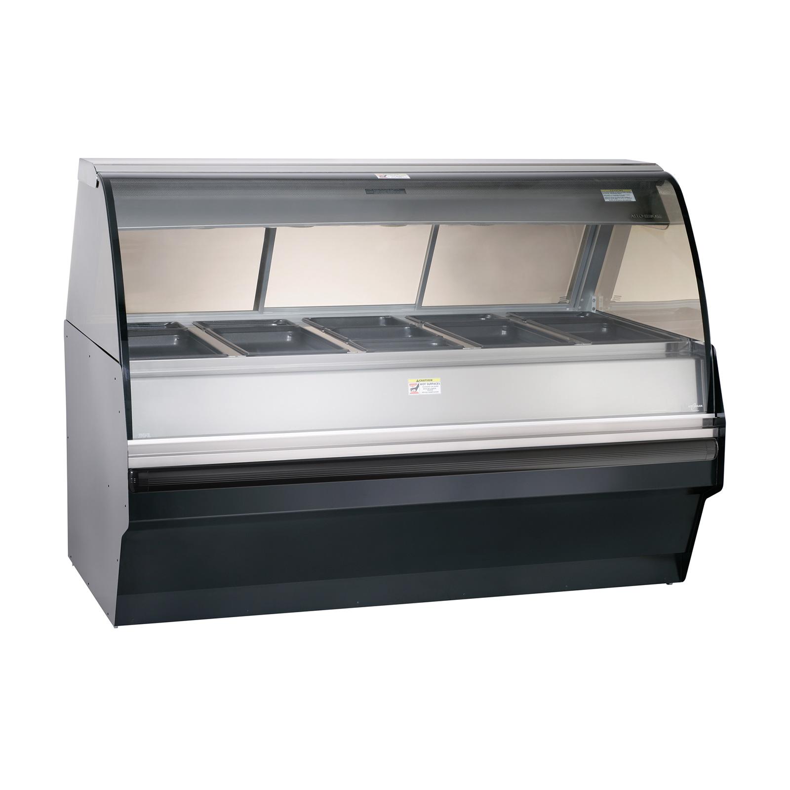 Alto-Shaam TY2SYS-72-SS display case, heated deli, floor model