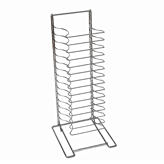 American Metalcraft 19024 pan rack, pizza