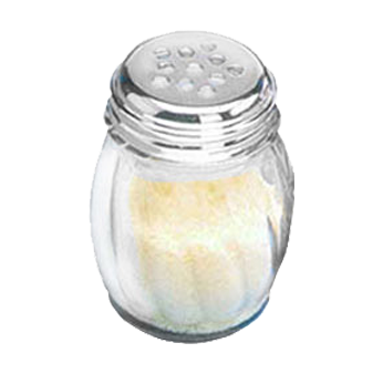 American Metalcraft 3306 cheese / spice shaker