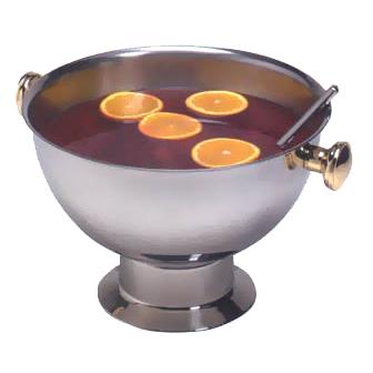 American Metalcraft ALLEGPBWL15 punch bowl, metal