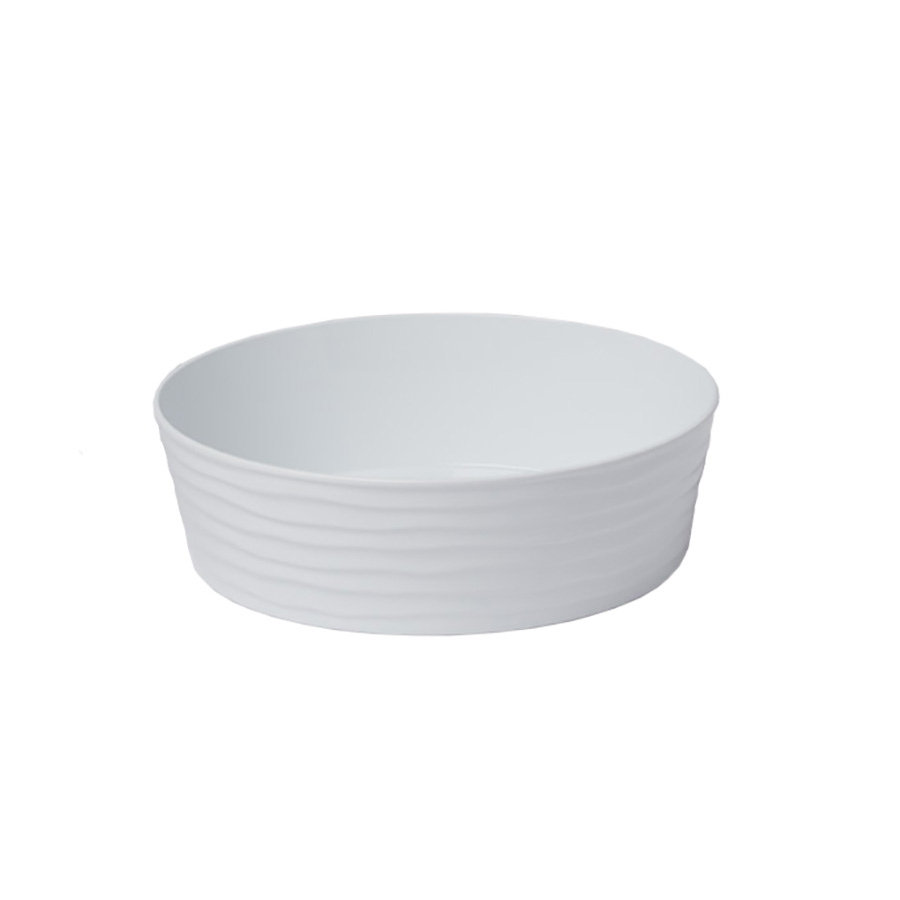 American Metalcraft B10W serving bowl, salad pasta, plastic