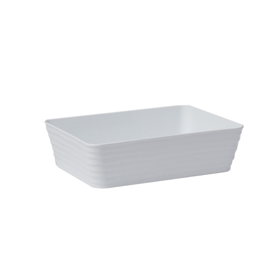 American Metalcraft B11W serving bowl, salad pasta, plastic