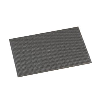 American Metalcraft BLACKBM1218 bar mat