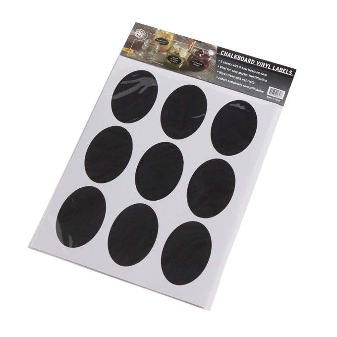 American Metalcraft CSO18 stickers (labels)