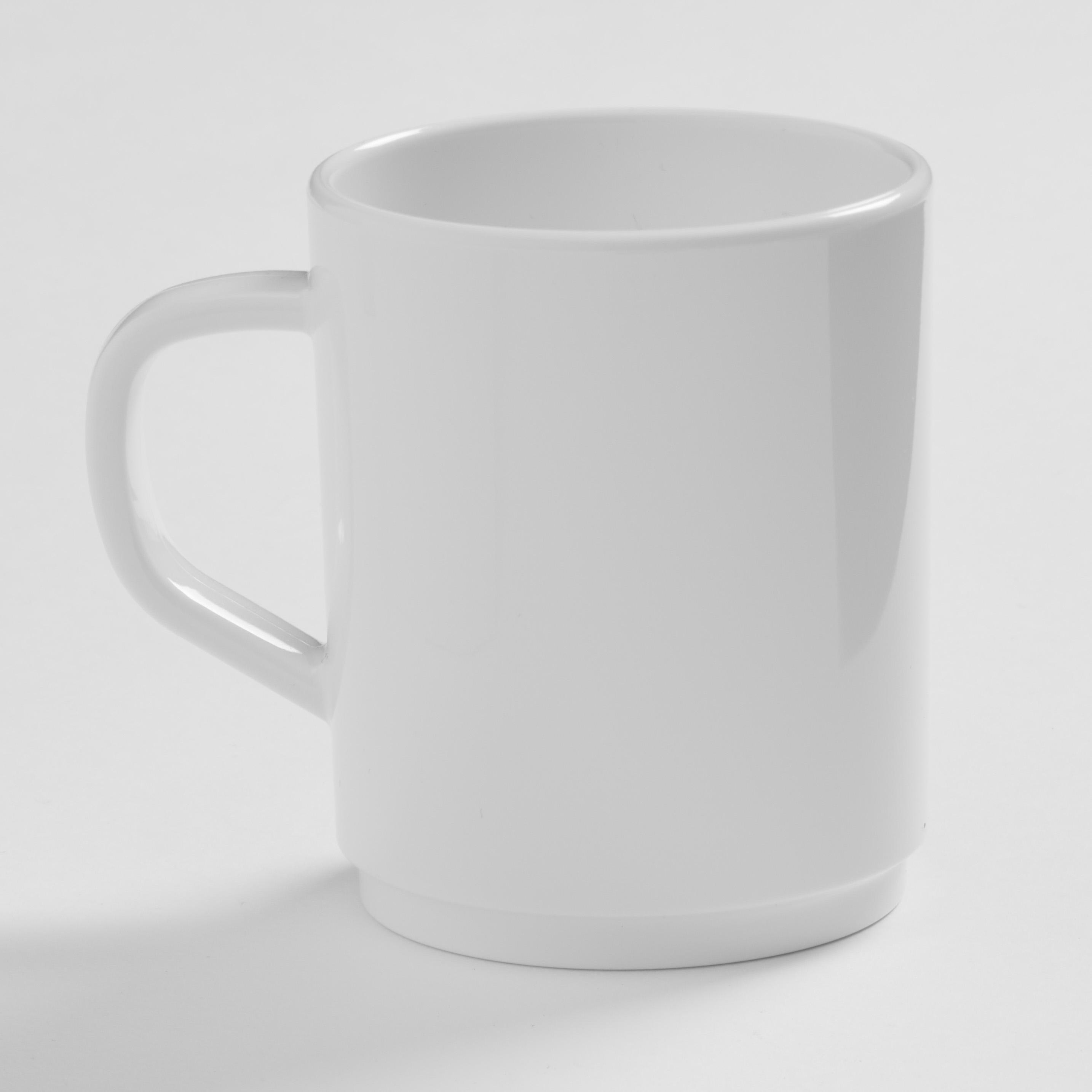 American Metalcraft DM10WH mug, plastic