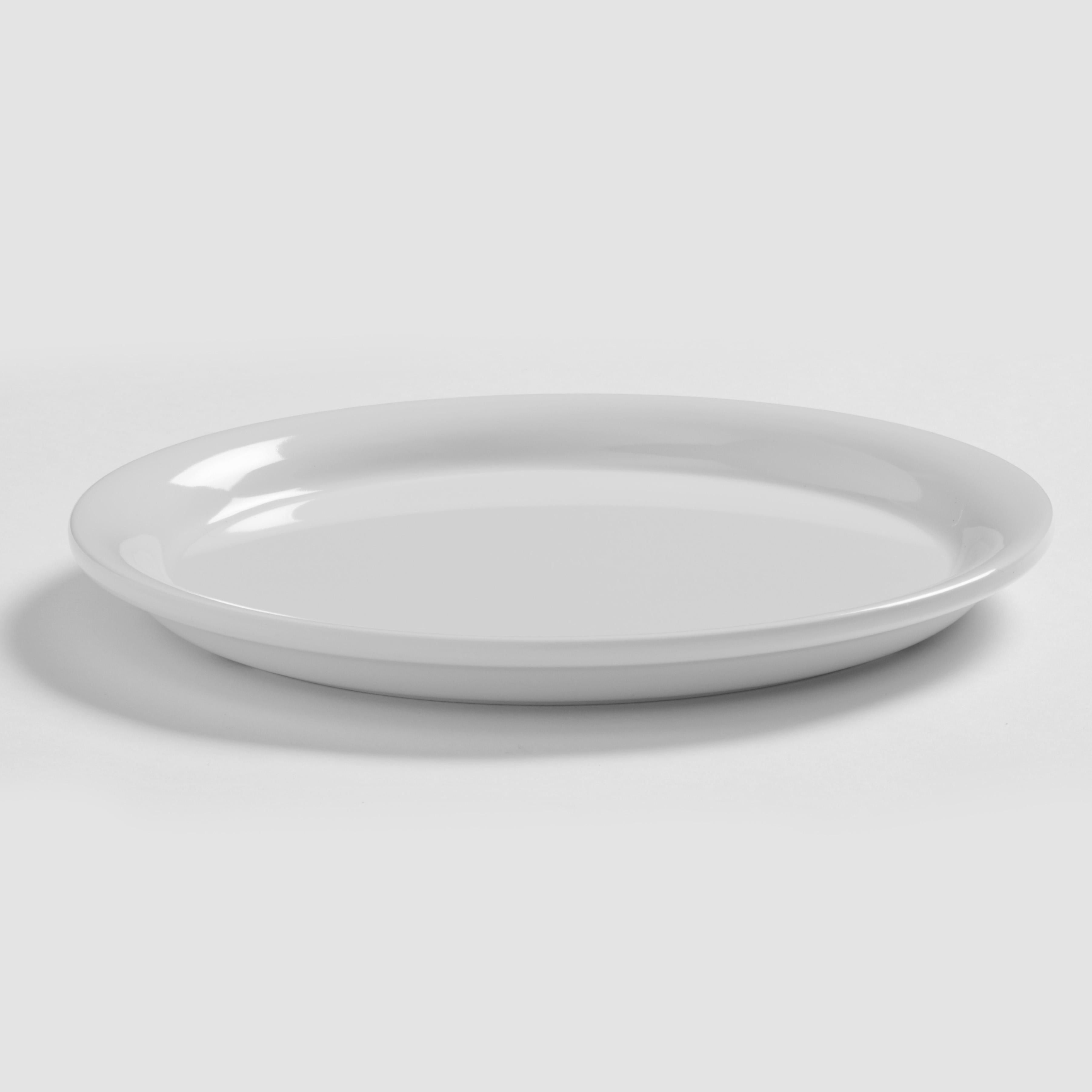American Metalcraft DPN6WH plate, plastic