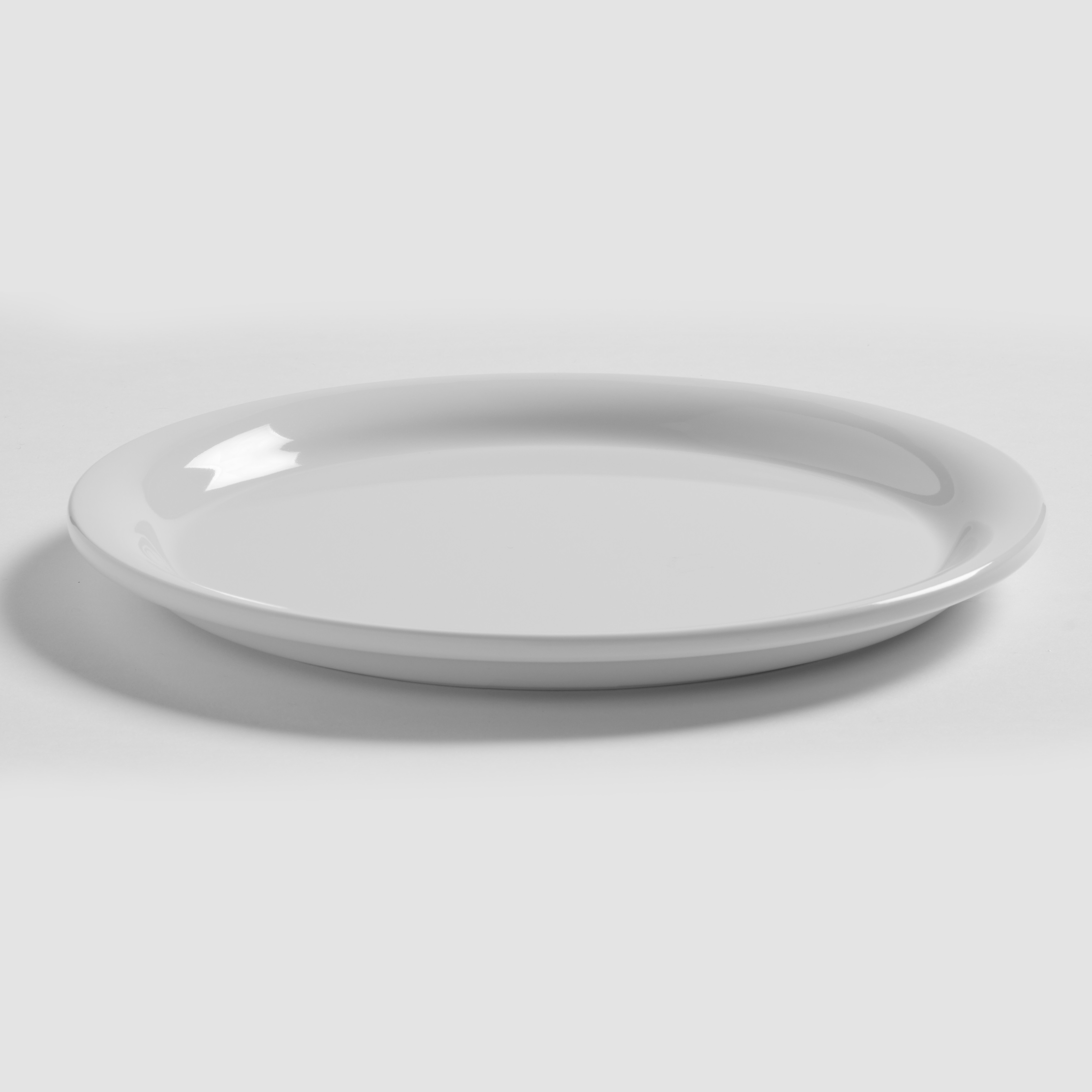 American Metalcraft DPN7WH plate, plastic