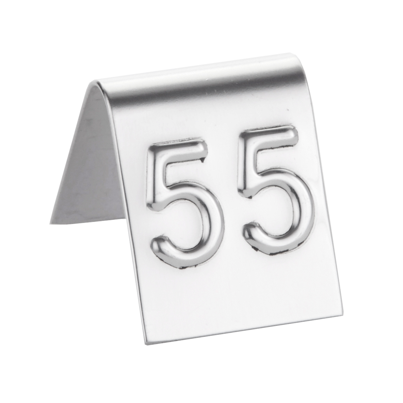 American Metalcraft EM199 tabletop sign, tent / number