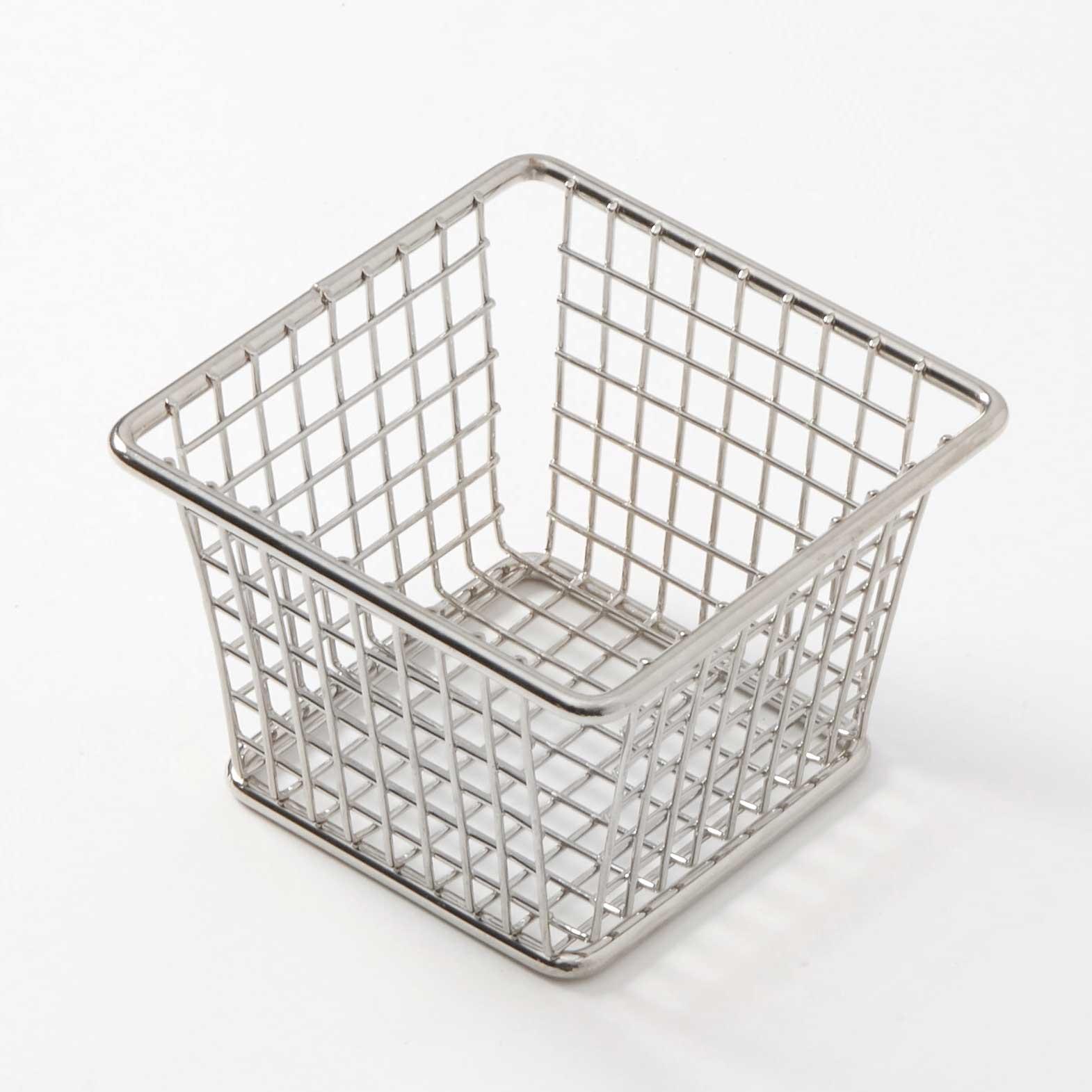 American Metalcraft FBSS44 basket, tabletop, metal