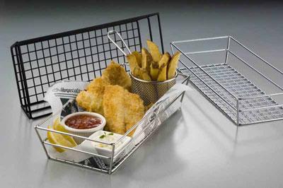 American Metalcraft GCRC1362 basket, tabletop, metal
