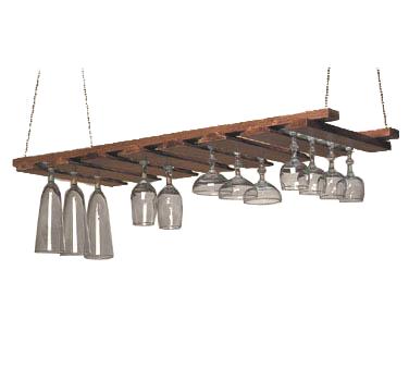 American Metalcraft GR1435 glass rack, hanging