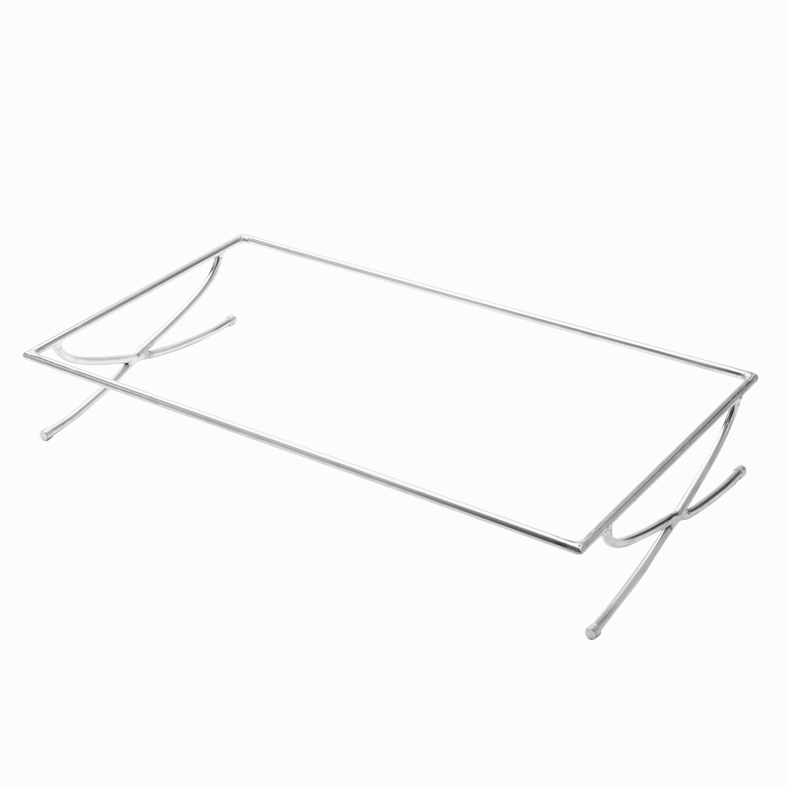 American Metalcraft GSREC griddle stand, stainless steel