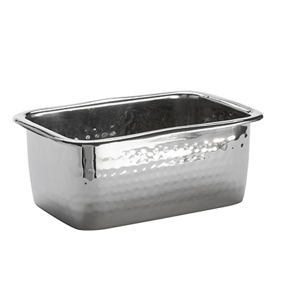 American Metalcraft HMBR mini pan, stainless steel, hammered
