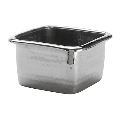 American Metalcraft HMBS mini pan, stainless steel, hammered