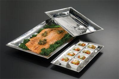American Metalcraft HMRT1019 serving & display tray, metal