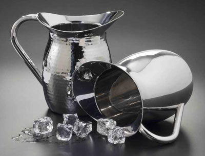 American Metalcraft HMWP64 pitcher, metal