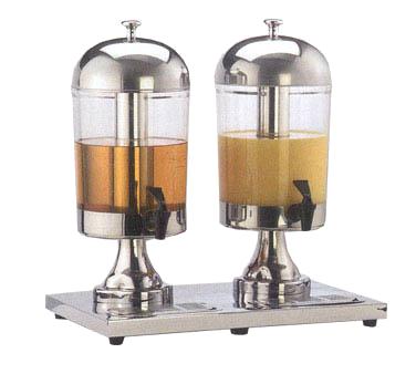 American Metalcraft JUICE2 beverage dispenser, non-insulated