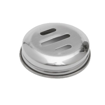 American Metalcraft M317T cheese / spice shaker, lid