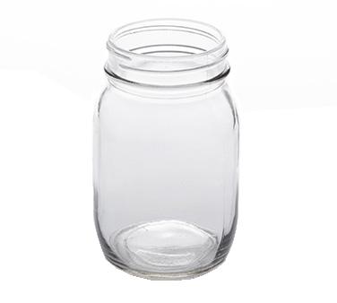 American Metalcraft MJ17 glass, mason jar