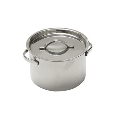 American Metalcraft MPL8 mini pot w/lid, ss