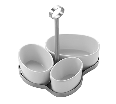 American Metalcraft OPC4 condiment caddy, bowl only