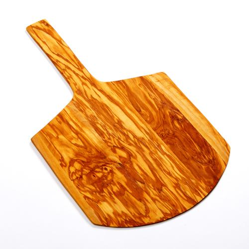 American Metalcraft OWP15 serving peel, olive wood, short handle