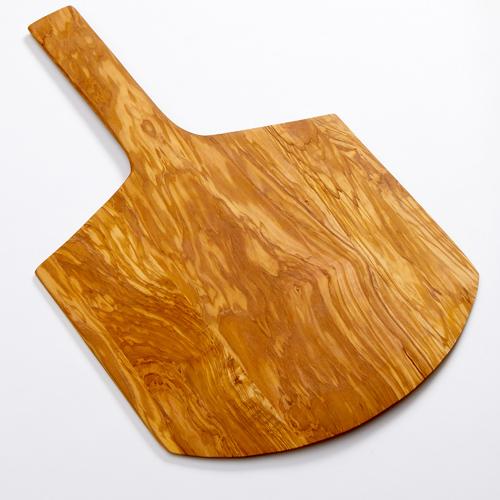 American Metalcraft OWP17 serving peel, olive wood, short handle