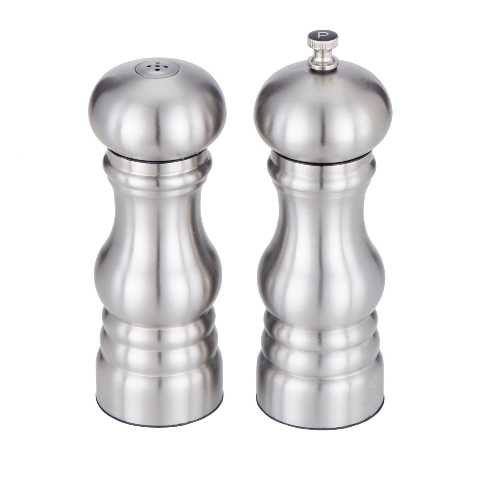American Metalcraft PMSS62 salt / pepper shaker & mill set