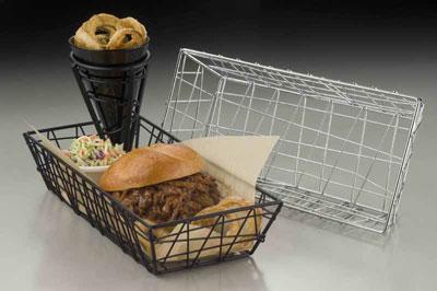 American Metalcraft ROB2613 basket, tabletop, metal