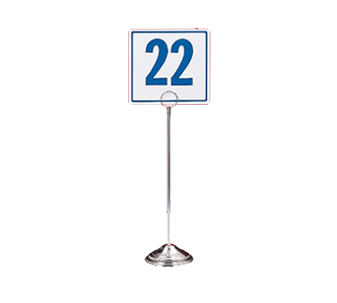 American Metalcraft RS12 menu card holder / number stand
