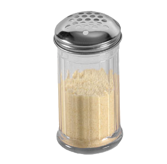 American Metalcraft SAN319 cheese / spice shaker
