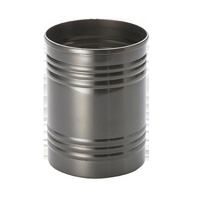 American Metalcraft SCB3 fry can, ss, black, three-ring