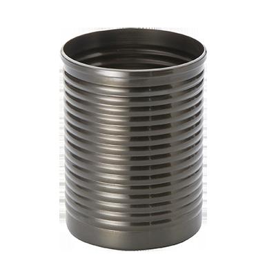 American Metalcraft SCBM fry can, ss, black, multi-ring