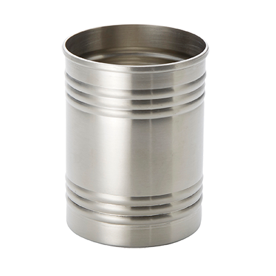 American Metalcraft SCS3 fry can, stainless steel, three-ring