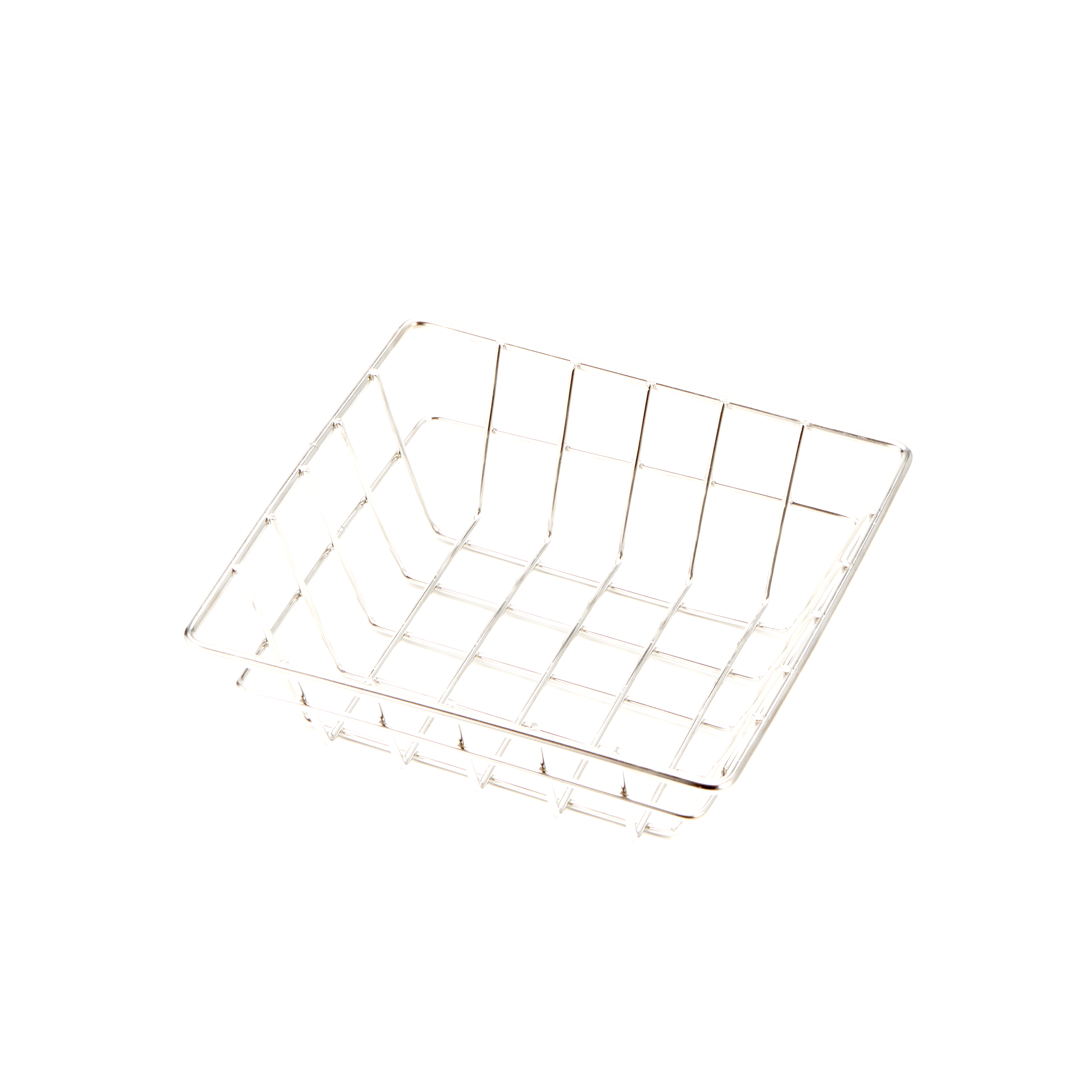 American Metalcraft SQGS6 basket, display, wire