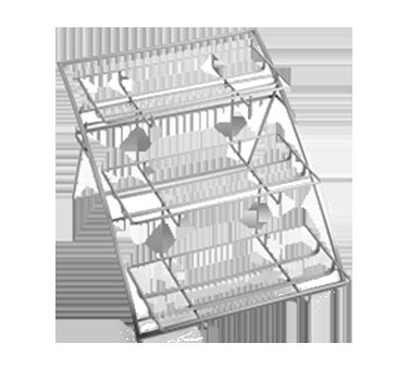 American Metalcraft TASLG stand, chrome, three-tier arch