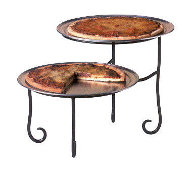 American Metalcraft TLSP1219 pizza stand, wrought iron