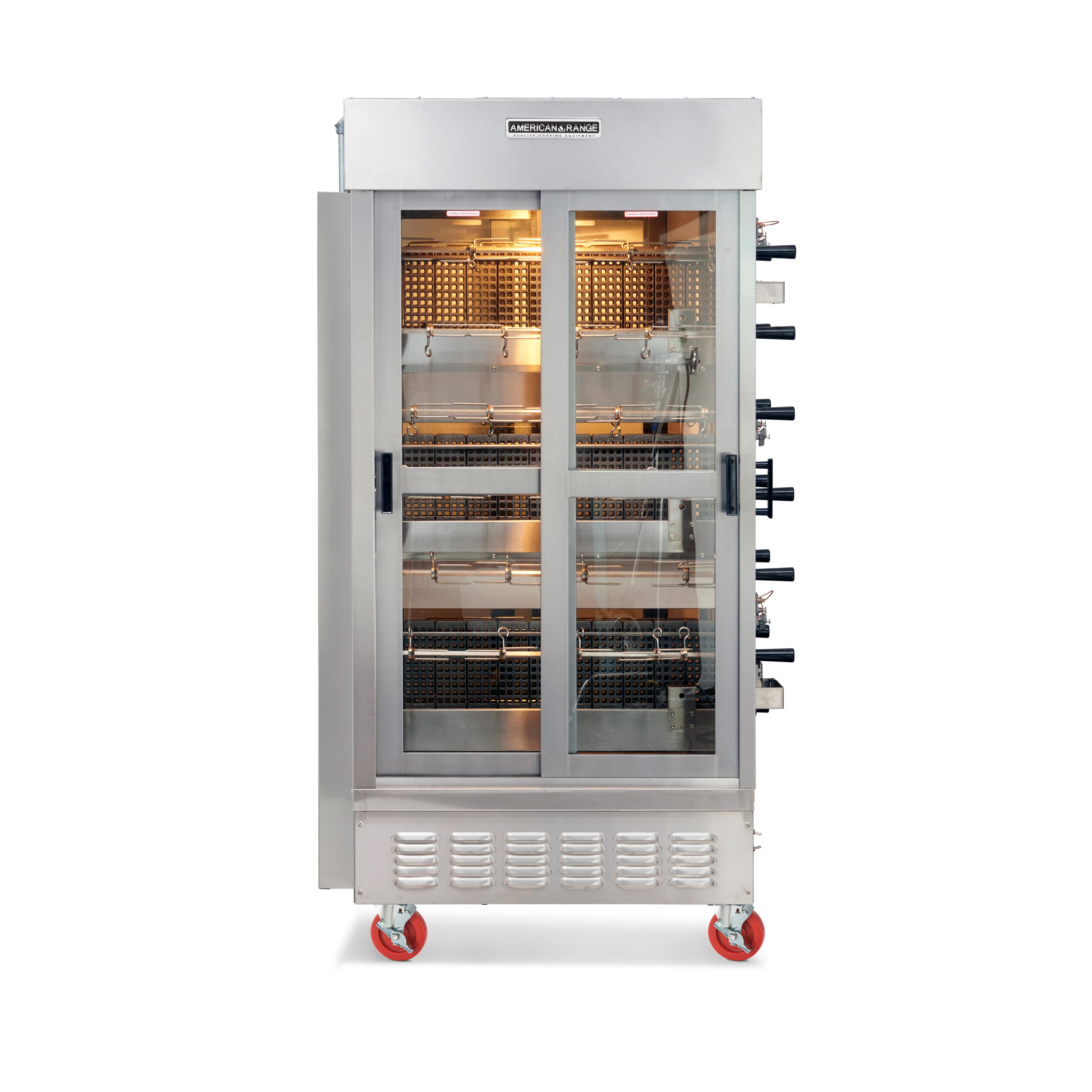 American Range ACB-14 oven, gas, rotisserie