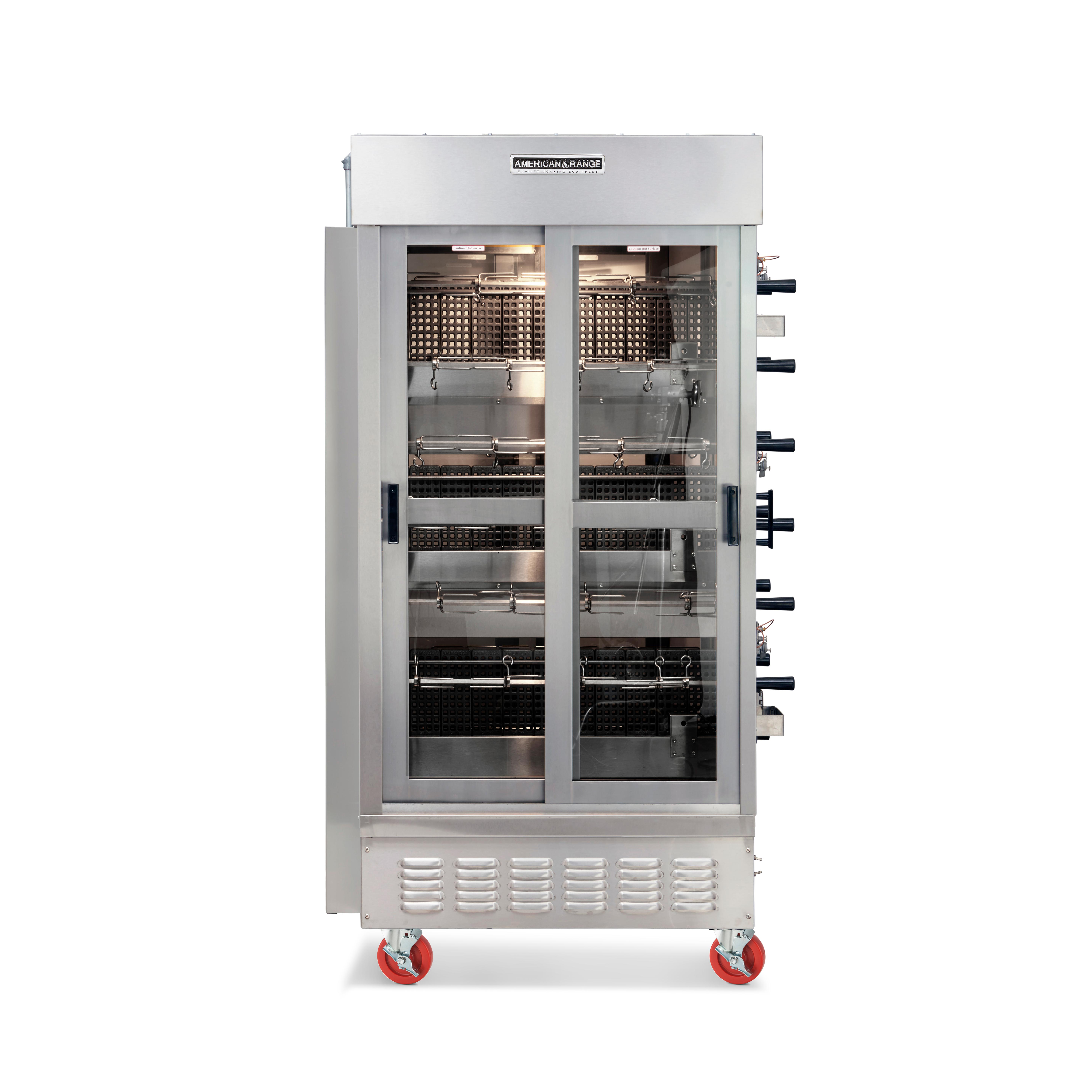 American Range ACB-7 oven, gas, rotisserie