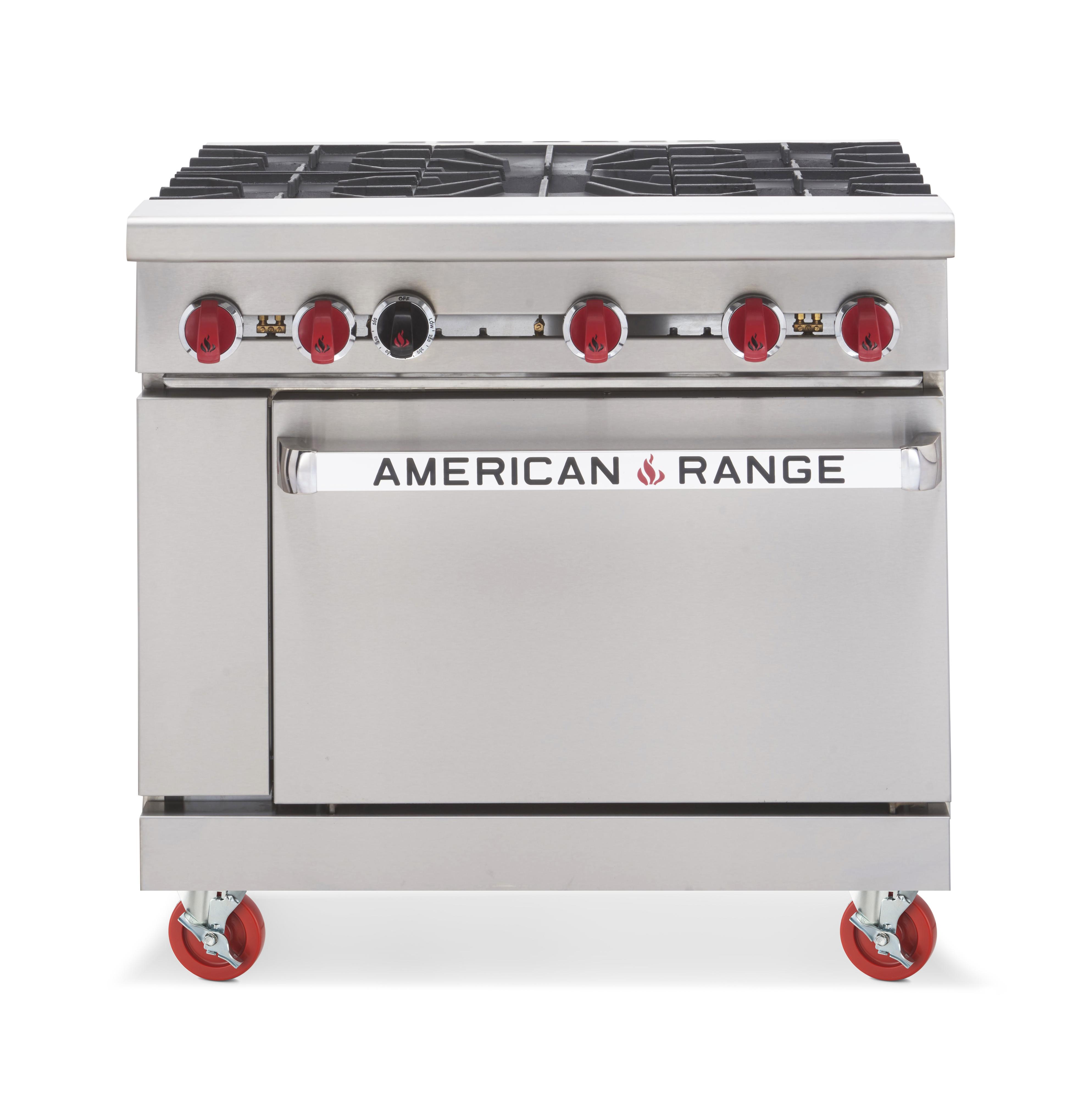 American Range AR-5 range, 36