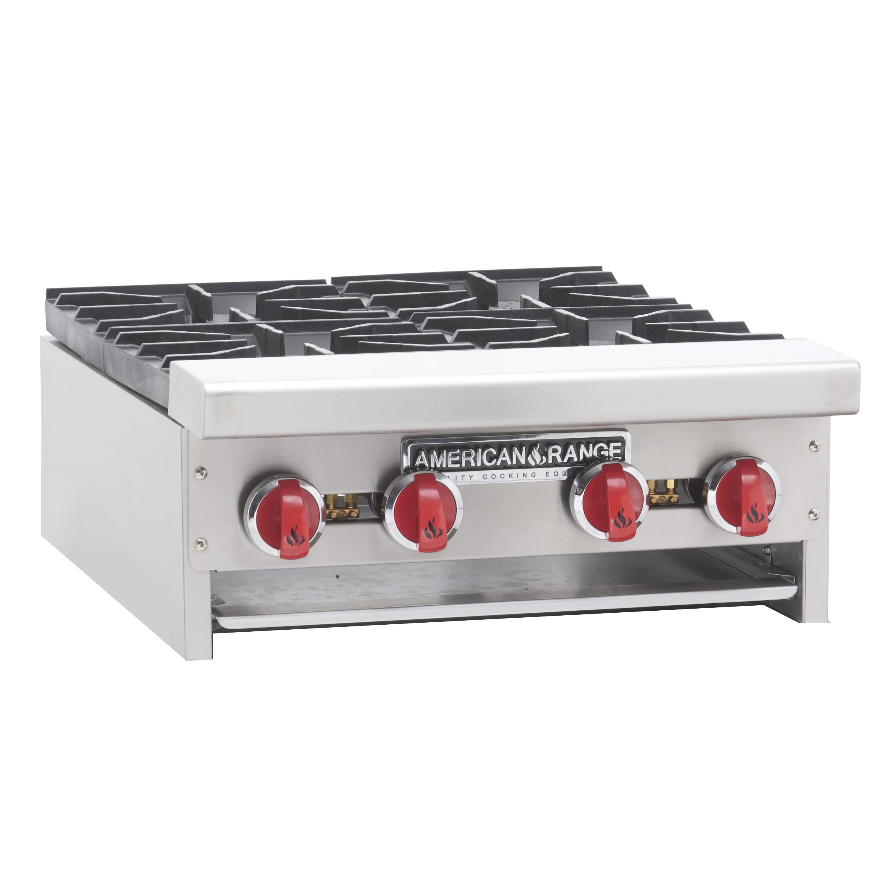 American Range ARHP-24-4 hotplate, countertop, gas